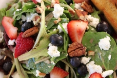 Spring Green and Berry Salad